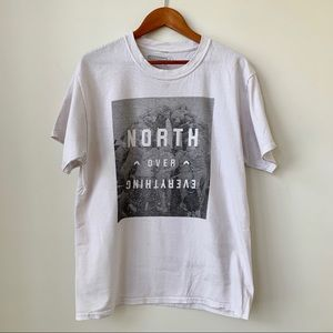 """RAPTORS   """"NORTH OVER EVERYTHING"""" GAME ARENA TEE"""